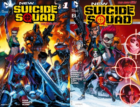 DC comics- Suicide Squad, Old and New