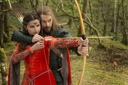 Doctor-Who-Robot-of-Sherwood-Jenna-Coleman-Tom-Riley
