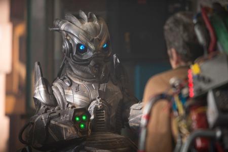 Doctor Who: The Caretaker- Skovox Blitzer