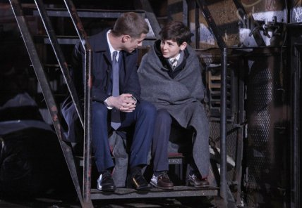 Gotham- Bruce Wayne and James Gordon
