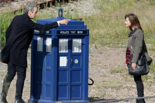 Doctor Who Flatline- the Doctor and Clara