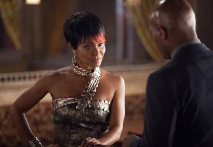 Gotham- Fish Mooney and Crispus Allen