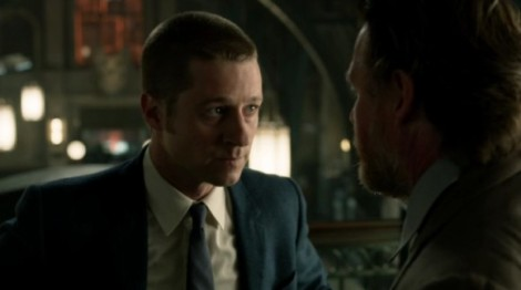 Gotham- Harvey Bullock and James Gordon