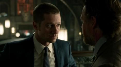 Gotham- Harvey Bullock and James Gordon