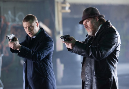 Gotham- James Gordon and Harvey Bullock