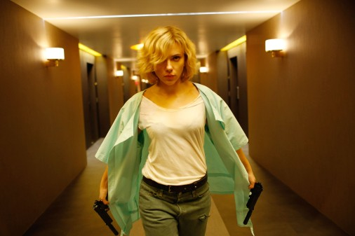 LUCY, Scarlett Johansson, 2014. ph: Jessica Forde/©Universal Pictures/courtesy Everett Collection