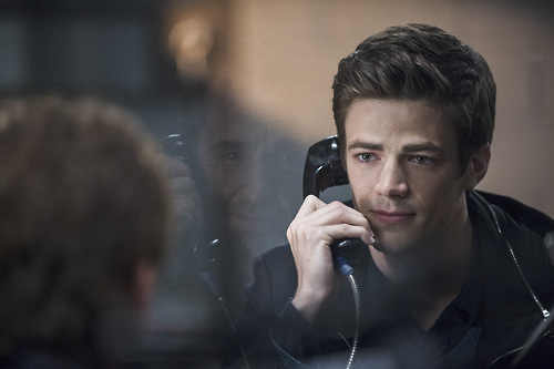 The Flash 1x3 Barry and his father