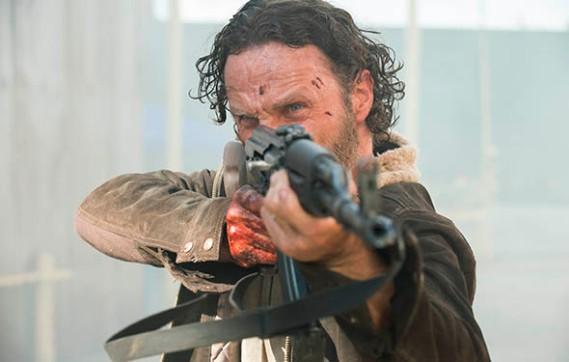 The Walking Dead No Sanctury Rick