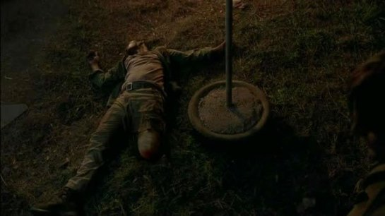 TWD four walls and a roof- Bob at the cannibal's camp