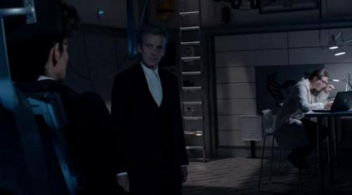 Doctor Who Death in Heaven- Missy, the Doctor and Osgood