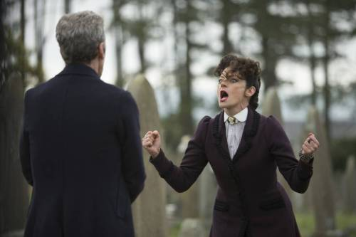 Doctor Who Death in Heaven- the Doctor and Missy