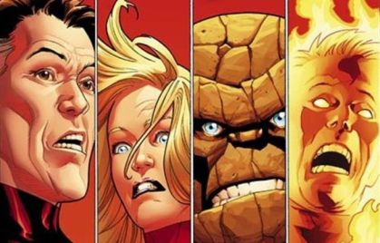 fantastic four comic cover