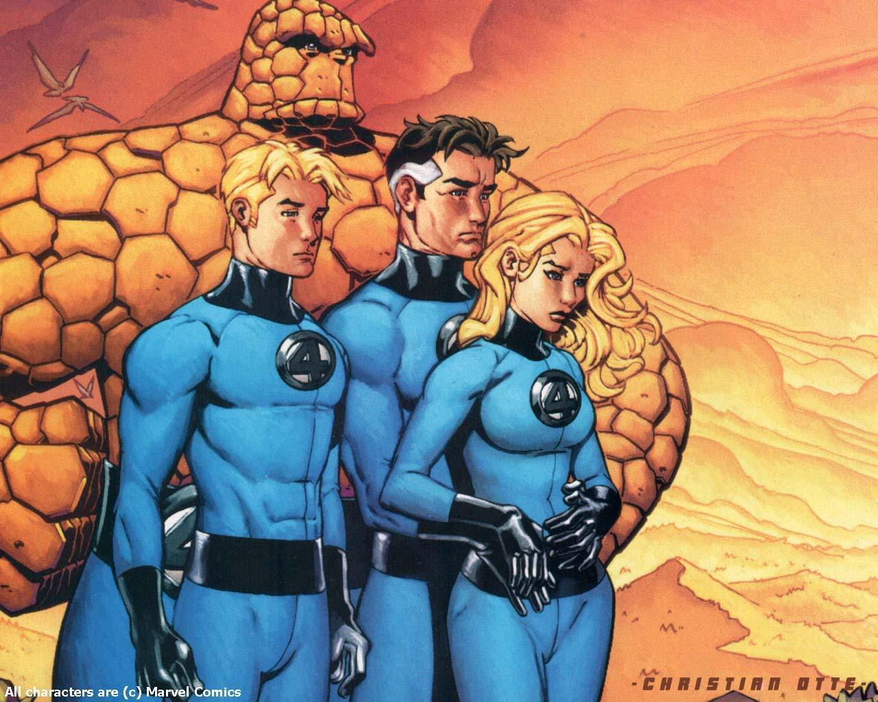 Fantastic 4 Cartoon Characters : Alternative origin story for doctor doom in new fantastic