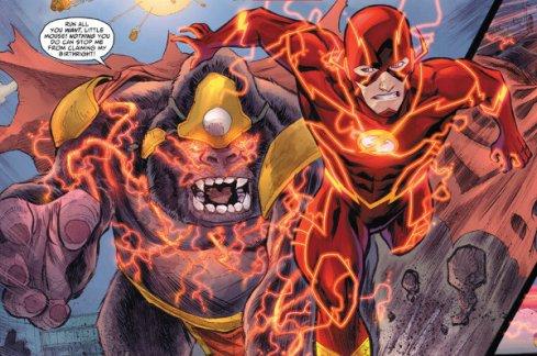 The Flash comics Gorilla Grodd and The Flash