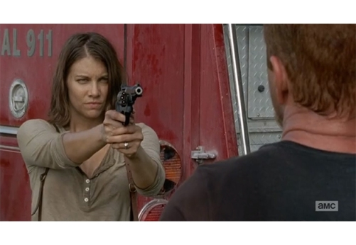 The Walking Dead 1x7 Maggie