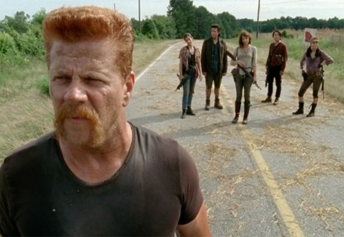 The Walking Dead 5x5 Abraham and the group