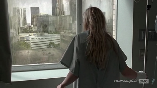 The Walking Dead 5x4 Beth in the hospital