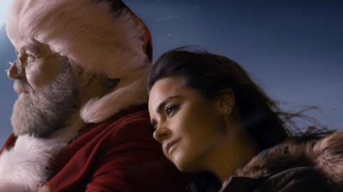 Doctor Who Clara and Santa