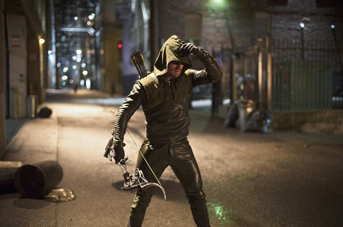 Flash vs Arrow Oliver in the stree