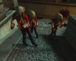 Half Life 2 zombies