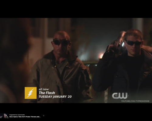 The Flash promo The Rogues
