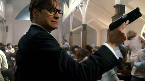 The Kingsman The Secret Service Colin Firth