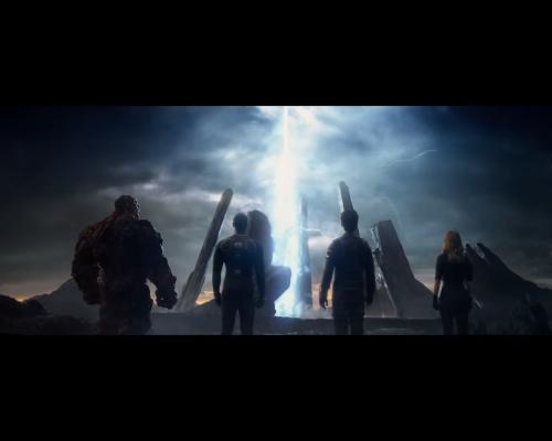 Fantastic Four 2015 alien structure