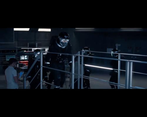 Fantastic Four 2015 astronauts boarding the ship
