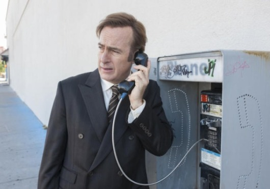 better call saul episode 3- McGill at the payphone