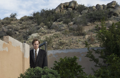 better call saul episode 3- McGill searching for the family
