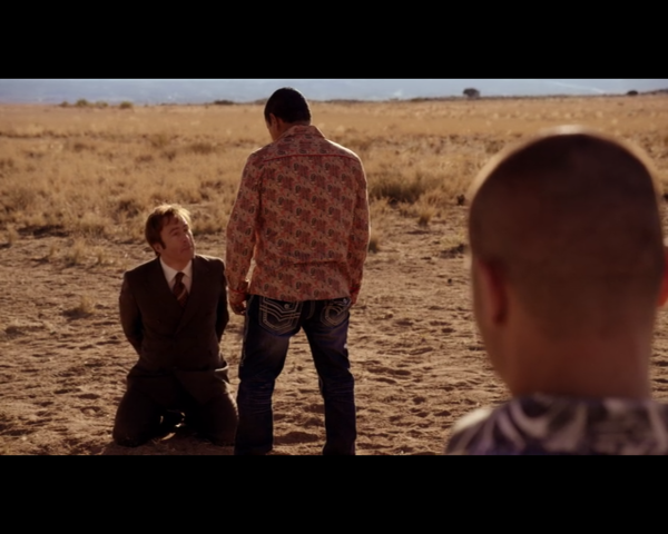 Better Call Saul- McBride and Tuco in the desert
