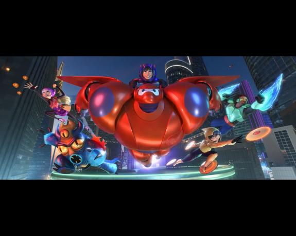 Big Hero 6 end scene