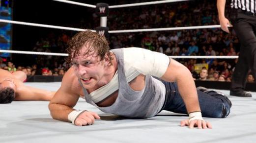 Dean Ambrose in-ring