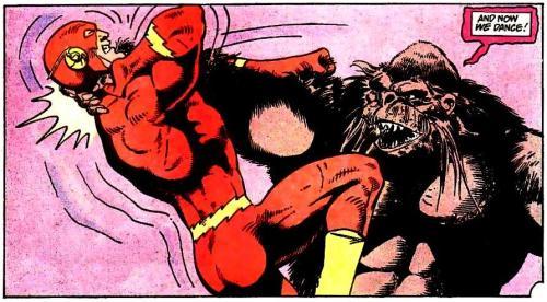 The Flash vs Gorilla Grodd