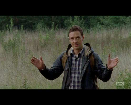 The Walking Dead 1x10 Aaron appears