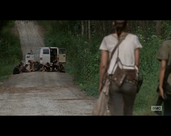 The Walking Dead 1x10 prologue