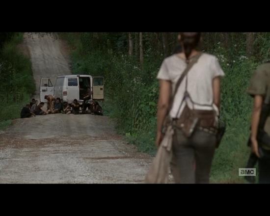 The Walking Dead 1x10 prologue