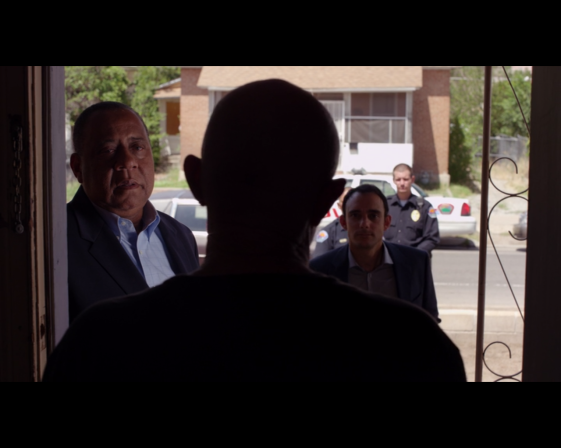 Better Call Saul season 1 episode 5 Mike has visitors