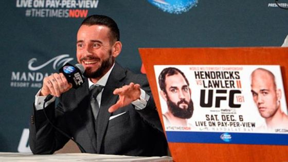 CM Punk UFC Q and A