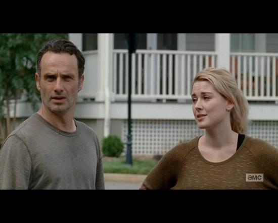 The Walking Dead season 5 episode 12 Rick and Samantha
