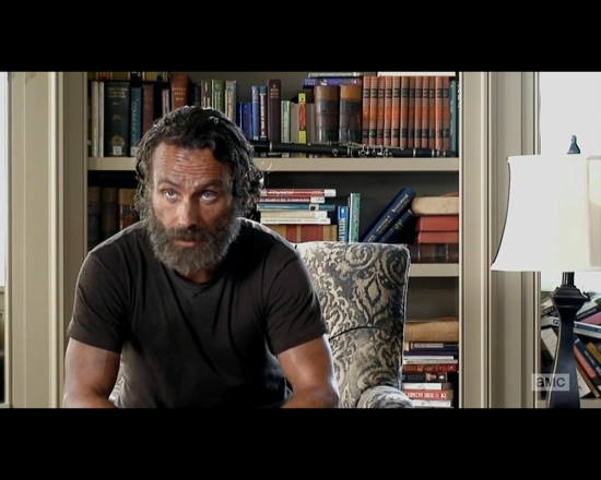 The Walking Dead season 5 episode 12 Rick interview