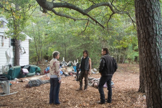 the walking dead season 5 episode 13 rick daryl and carol