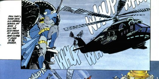 Batman with rifle