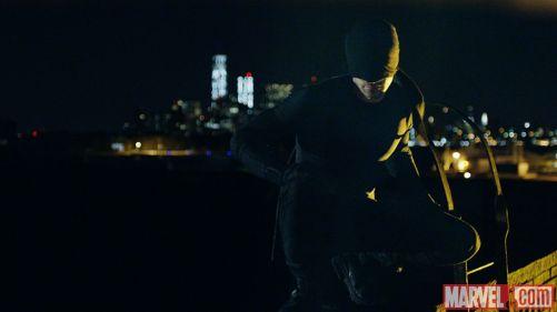 Daredevil black costume