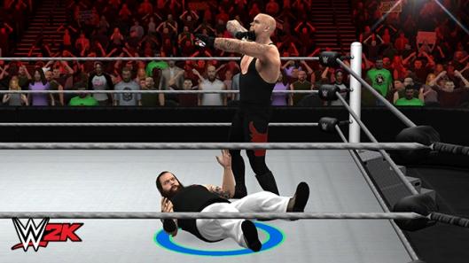 WWE 2K screenshots Bray Wyatt vs Undertaker