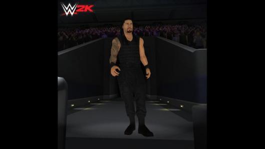 WWE 2K screenshots Roman Reigns
