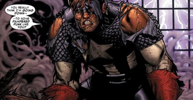 Captain America in marvel civil war