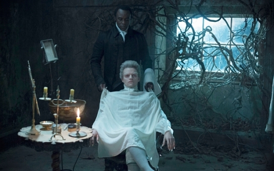 Programme Name: Jonathan Strange & Mr Norrell - TX: n/a - Episode: Ep2 (No. 2) - Picture Shows: (L-R) Stephen Black (ARIYON BAKARE), The Gentleman (MARC WARREN) - (C) JSMN Ltd - Photographer: Matt Squire