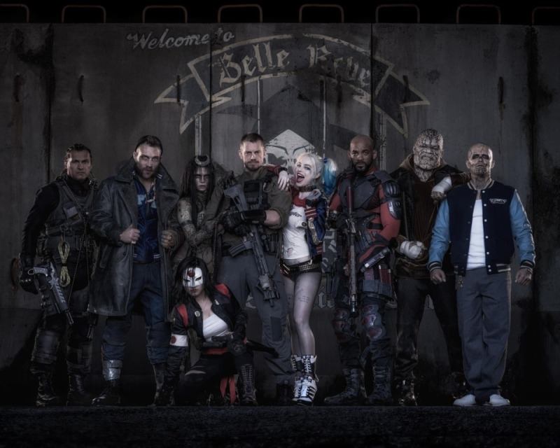 Suicide Squad full team