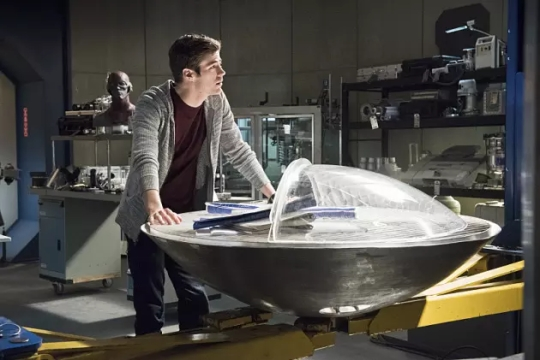 the flash season 1 episode 23 barry and the time machine